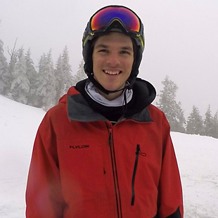 Brooks Curran Ski Tester Headshot Image