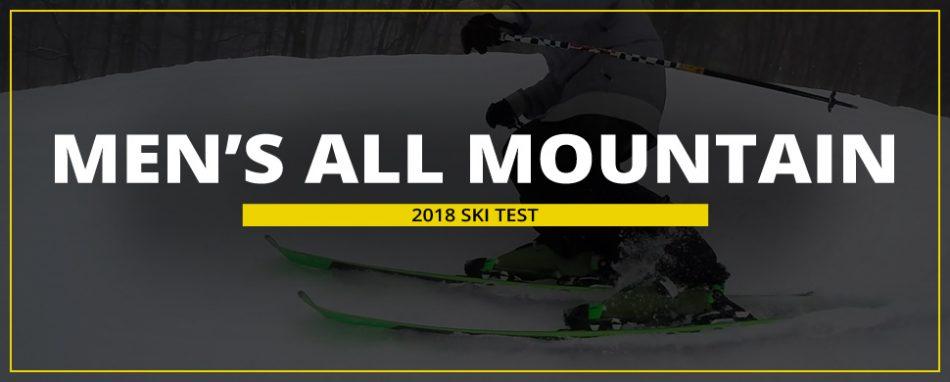Skiessentials.com 2018 Ski Test: Men's All Mountain Skis