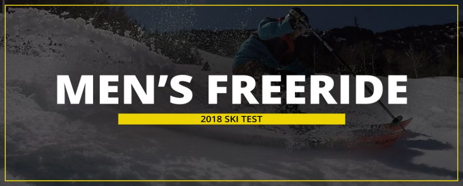 Skiessentials.com 2018 Ski Test: Men's Freeride Skis