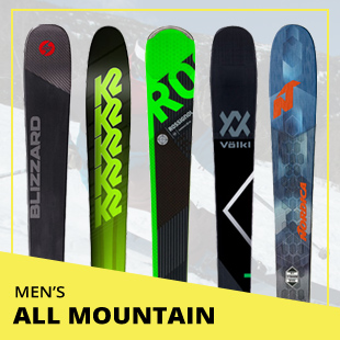 Browse 2018 Ski Test by Category: Men's All Mountain Skis