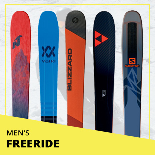 Browse 2018 Ski Test by Category: Men's Freeride Skis