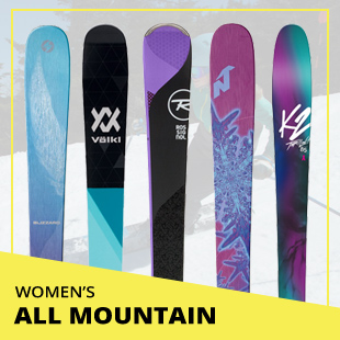 Browse 2018 Ski Test by Category: Women's All Mountain Skis