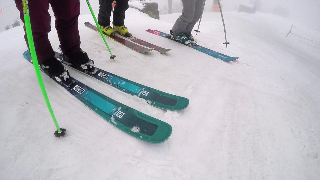 parhaat hinnat ostaa halvat hinnat 2018 Salomon QST Lumen 99 Women's Skis – 2018 Ski Test